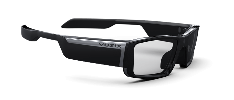 Image result for Vuzix Blade smart glasses CES 2018